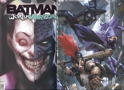 Picture of BATMAN THE JOKER WAR ZONE #1 (ONE SHOT) CVR A & B SET