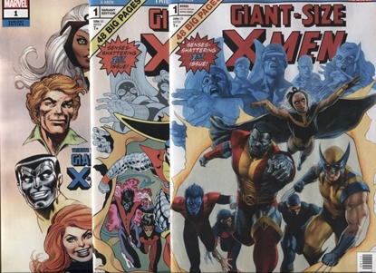 Picture of GIANT SIZE X-MEN TRIBUTE WEIN COCKRUM #1 COVER A B C SET