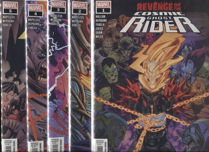 Picture of REVENGE OF COSMIC GHOST RIDER #1-5 SET