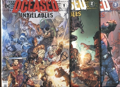 Picture of DCEASED UNKILLABLES #1-3 SET