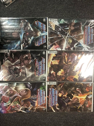 Picture of HE MAN AND THE MASTERS OF THE MULTIVERSE #1-6 SET