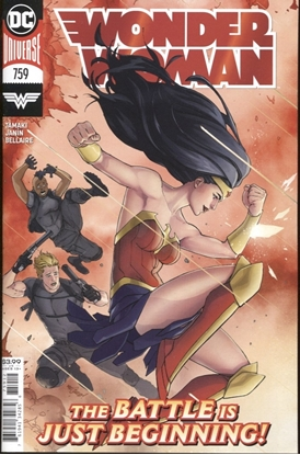Picture of WONDER WOMAN #759 2ND PRINT DAVID MARQUEZ RECOLORED VARIANT
