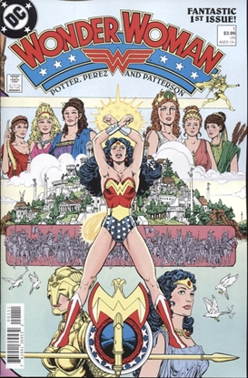Picture of WONDER WOMAN #1 (1987) FACSIMILE EDITION