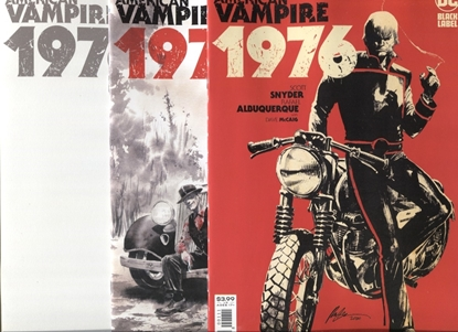 Picture of AMERICAN VAMPIRE 1976 #1 COVER A B + BLANK SET