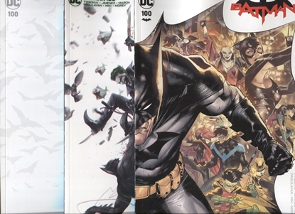 Picture of BATMAN #100 COVER A B + BLANK SET