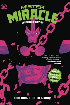 Picture of MISTER MIRACLE THE DELUXE EDITION HC
