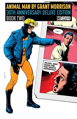 Picture of ANIMAL MAN BY GRANT MORRISON BOOK 2 HC 30TH ANNIVERSARY DELUXE EDITION