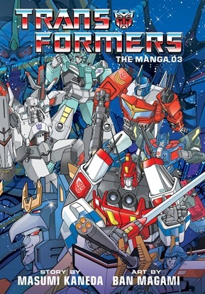 Picture of TRANSFORMERS CLASSIC TV MAGAZINE MANGA HC VOL 3