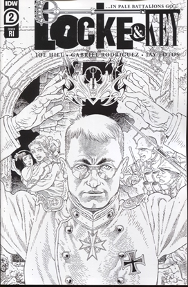 Picture of LOCKE & KEY IN PALE BATTALIONS GO #2 1:10 INCENTIVE COVER