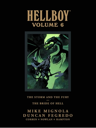 Picture of HELLBOY LIBRARY HC VOL 6 STORM FURY BRIDE HELL