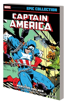 Picture of CAPTAIN AMERICA EPIC COLLECTION TP MONSTERS AND MEN