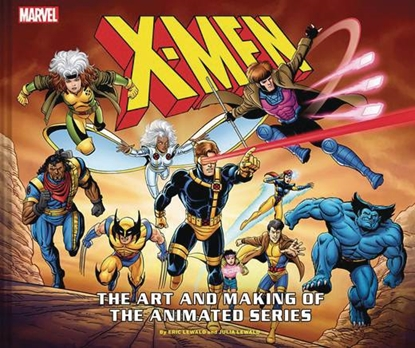 Picture of X-MEN ART & MAKING OF ANIMATED SERIES HC