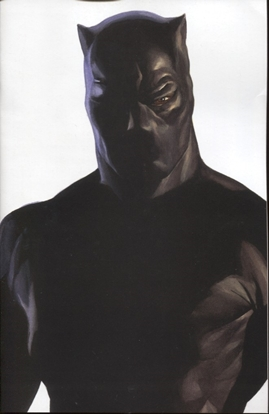 Picture of AVENGERS #37 ALEX ROSS BLACK PANTHER TIMELESS VARIANT COVER