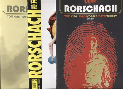 Picture of RORSCHACH #1 COVER A B C SET