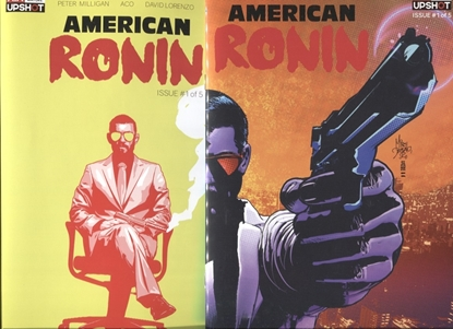 Picture of AMERICAN RONIN #1 (OF 5) COVER A & B SET