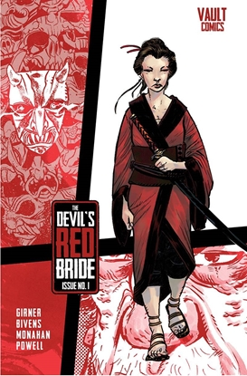 Picture of DEVILS RED BRIDE #1 COVER A B & C SET