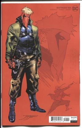 Picture of BATMAN #101 INC 1:25 JORGE JIMENEZ GRIFTER CARD STOCK VARIANT