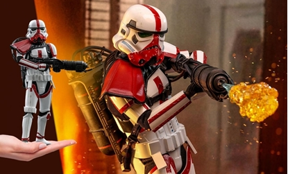 Picture of INCINERATOR STORMTROOPER SIDESHOW 1:6 SCALE HOT TOYS  TMS012