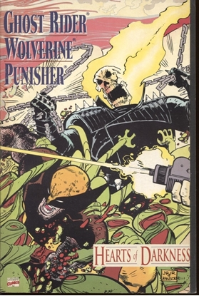 Picture of GHOST RIDER WOLVERINE PUNISHER HEARTS OF DARKNESS 8.5 VF+