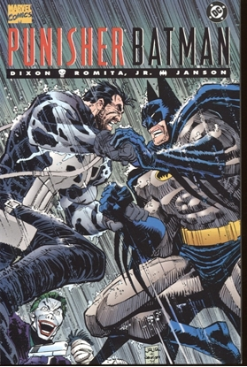 Picture of BATMAN PUNISHER GN (1994) ONE-SHOT 9.4 NM ROMITA