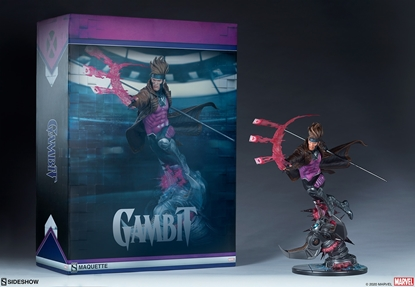 Picture of GAMBIT 1/4 SCALE MAQUETTE SIDESHOW- REGULAR EDITION