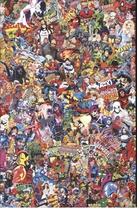 Picture of MARVEL COMICS #1000 GARCIN COLLAGE VAR