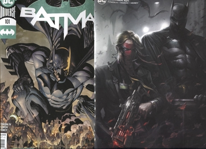 Picture of BATMAN #101 COVER A & B VARIANT SET