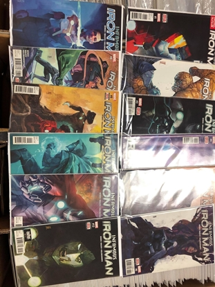 Picture of INFAMOUS IRON MAN (2016) #1-12 SET