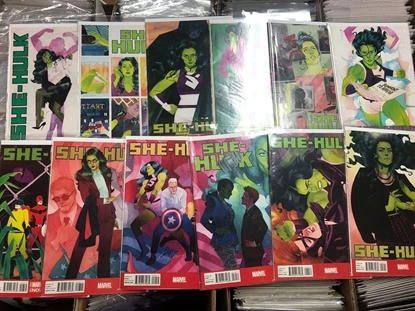 Picture of SHE-HULK (2014) #1-12 SET