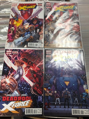 Picture of DEADPOOL VS X-FORCE #1-4