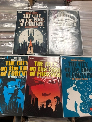 Picture of STAR TREK THE CITY ON THE EDGE OF FOREVER #1-5 SET