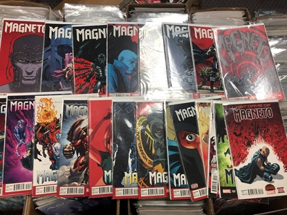 Picture of MAGNETO (2014) #'S 1 THRU 21 COMPLETE SET