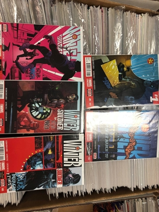 Picture of WINTER SOLDIER (2014) #1-5 SET REMENDER