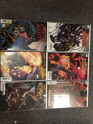 Picture of ABSOLUTE CARNAGE 6 ISSUE ONE-SHOT SET