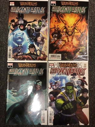 Picture of NEW AGENTS OF ATLAS #1 2 3 4 SET