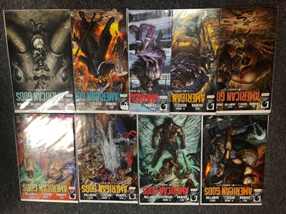 Picture of AMERICAN GODS MY AINSEL #1-9 COVER A SET