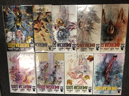 Picture of AMERICAN GODS MY AINSEL #1-9 COVER B SET