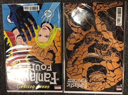 Picture of FANTASTIC FOUR GRAND DESIGN #1 & 2 COVER B SET