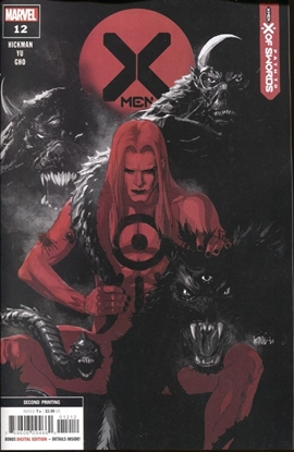 Picture of X-MEN #12 2ND PRINT YU VARIANT COVER
