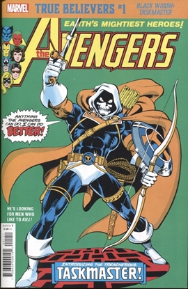 Picture of TRUE BELIEVERS BLACK WIDOW TASKMASTER #1