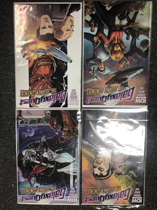 Picture of GALAXY QUEST #1-4 SUB COVER SET