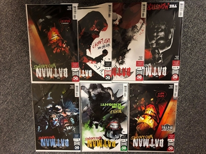 Picture of BATMAN WHO LAUGHS #1-7 COVER A SET