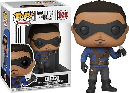 Picture of FUNKO POP TELEVISION THE UMBRELLA ACADEMY DIEGO HARGREEVES #929 NEW