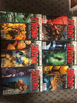 Picture of TOM STRONG AND THE ROBOTS OF DOOM #1-6 SET