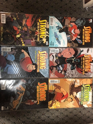 Picture of TOM STRONG AND THEPLANET OF PERIL #1-6 SET