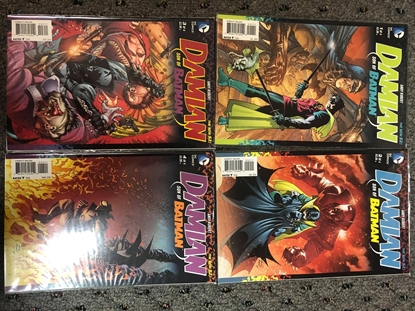 Picture of DAMIAN SON OF BATMAN (2013) #1-4 SET