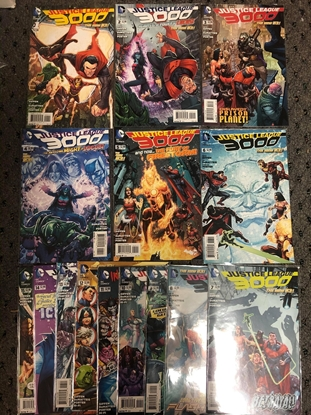 Picture of JUSTICE LEAGUE 3000 (2014) #1-15 SET