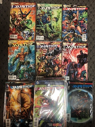 Picture of JUSTICE LEAGUE (2011) #1-52 + EXTRAS