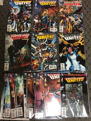Picture of JUSTICE LEAGUE UNITED #0,1-16, ANNUAL 1