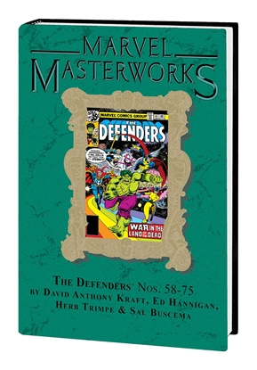 Picture of MARVEL MASTERWORKS DEFENDERS HC VOL 7 DM VAR ED 295